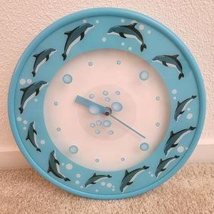 Dolphin 🐬 Wall Clock